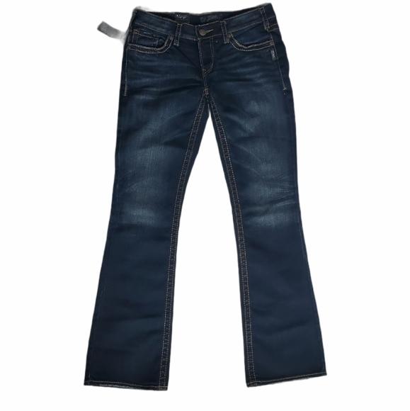 Silver Aiko Bootcut Jeans 30W X 33L
